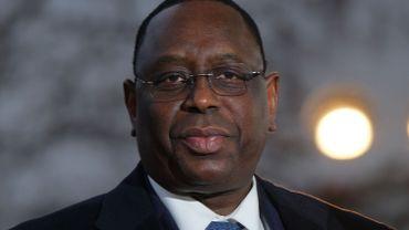 Macky Sall, le président sénégalais, en novembre 2019