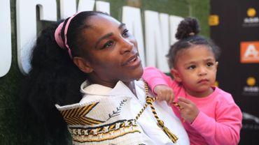 Serena Williams et sa fille Alexis Olympia