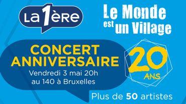 Concert '20 ans' : une [seconde] soirée extraordinaire le 3 mai au 140