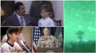 Ces images ont marqué les téléspectateurs durant la première Guerre du Golfe.