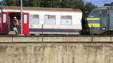 Le train qui a déraillé
