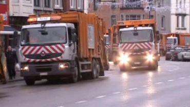 Camion poubelle de l'ICDI