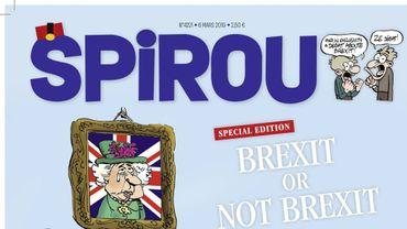 Sortie ce mercredi de l'édition spéciale du journal de Spirou sur le Brexit