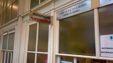 Guichet de l'Etat Civil, commune d'Ixelles