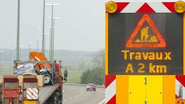 E25: un nouveau chantier débute entre Tailles et Houffalize