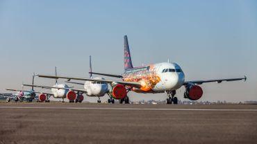 Plusieurs avions de la compagnie Brussels Airlines cloués au sol à l'aéroport de Bruxelles-National