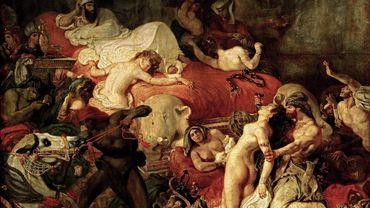 Eugène Delacroix et son goût pour l'orientalisme, dans La Mort de Sardanapale (1827)