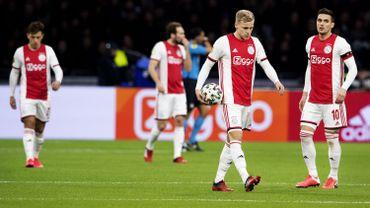 Les joueurs de l'Ajax