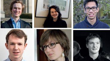 L'équipe 2016 seracomposée d'Apolline Jesupret, Vadim Lacroix, Leenart T'Jollyn du côté francophone ; de MarieFrançois, Wouter Valvekens et Lenny Bui-Vandeput du côté néerlandophone.