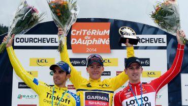 Talansky gagne le Dauphiné, VDB 3e