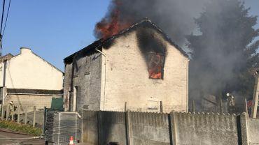 Incendie dans une habitation à Geer