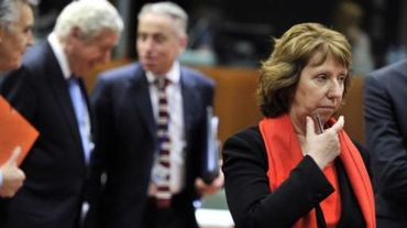 Les ministres européens des Affaires étrangères en réunion d'urgence à Bruxelles