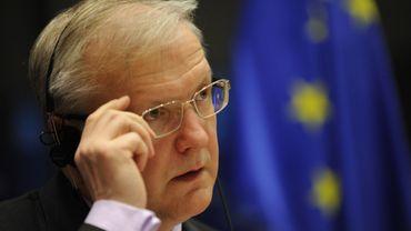 Olli Rehn, le commissaire européen aux Affaires économiques, veut voir dans le traitement des épargnants chypriotes un modèle européen