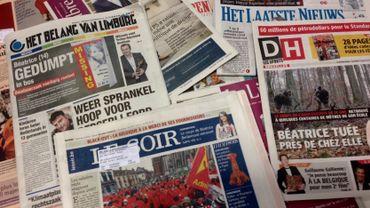 La presse écrite boit la tasse en Belgique francophone