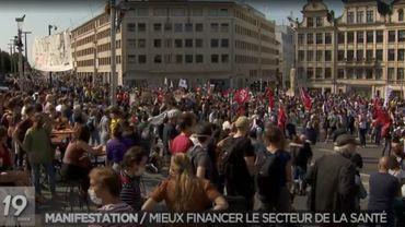 La manifestation pour les soins de santé du 13 septembre s'est déroulé relativement dans le calme. Peu avant la fin, des incidents éclatent entre manifestants et forces de l'ordre, mais la RTBF n'en a pas parlé sur ses antennes.