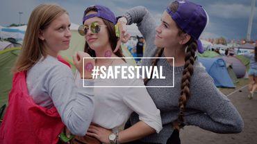 Une campagne contre le harcèlement dans les festivals d'été.