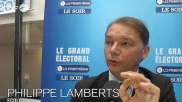 """P. Lamberts (Ecolo): """"I. Durant aurait plus contribué à la victoire d'Ecolo en étant ma seconde"""""""