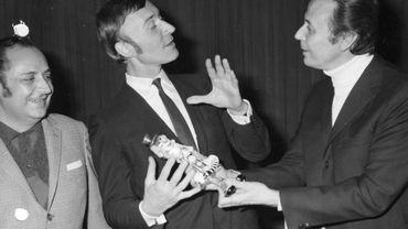 Stéphane Steeman, l'acteur et humoriste belge, est décédé. Archive 1968