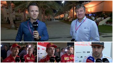 Le débrief' : Ferrari rassure, Alonso dans la McLaren...mardi et mercredi