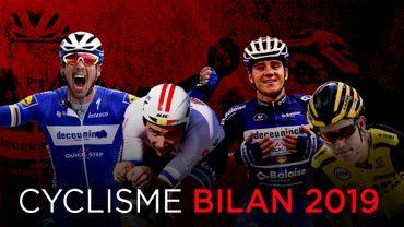 Bilan cyclisme 2019: le pavé de Gilbert, le record de Victor, les numéros de Remco et la sensation Van Aert