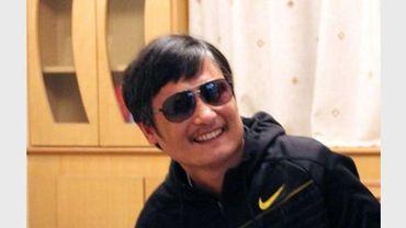 Photo non datée de l'avocat aveugle chinois Chen Guangcheng à Pékin