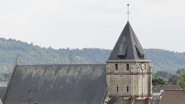 Les trois symboles de l'attentat de Saint-Etienne-du-Rouvray