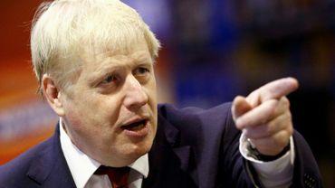 Le Premier ministre Boris Johnson à Manchester le 30 septembre 2019, où se déroule le congrès du parti conservateur