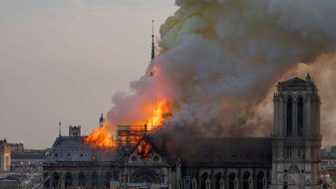 L'incendie qui a ravagé Notre-Dame de Paris le 15 avril 2019