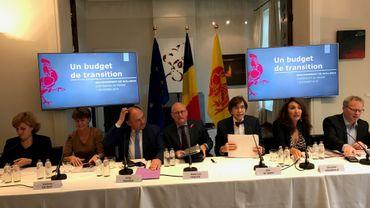 Le gouvernement wallon a présenté son budget pour 2020