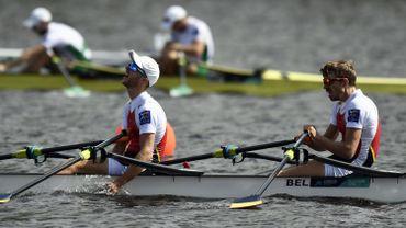 Brys et Van Zandweghe médaillés de bronze aux mondiaux d'aviron