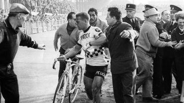 Emile Daems, vainqueur de Paris-Roubaix le 7 avril 1963