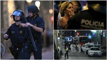 Attaque à Barcelone: 13 morts, dont une Belge, deux arrestations, l'EI revendique