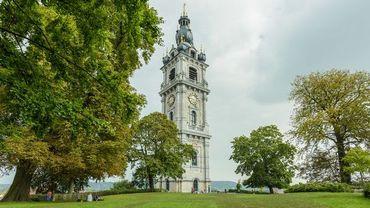 """Le jardin du beffroi se trouve non loin de la Grand Place, sur une petite hauteur, en suivant la rue de la """"Rampe du Château"""""""