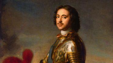 """""""Pierre Ier, tsar de Russie"""" de Jean-Marc Nattier (1717)"""