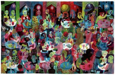 """""""Les Rigoles"""" : les divagations ondulatoires de Brecht Evens"""