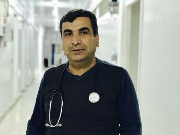 Docteur Bassam Al Hussein, médecin urgentiste.