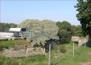 Le futur téléphérique de Namur.