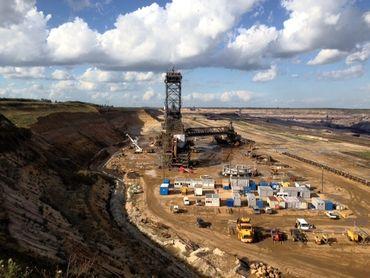 La mine de lignite à ciel ouvert de Garzweiler