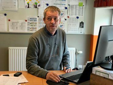 Philippe Motte dit Falisse, Directeur de l'école communale Marcel Thiry de Mehagne