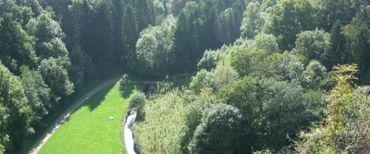 """Trois cent septante-quatre hectares du domaine du château de Modave (qui en compte 450) sont classés """" réserves naturelles """"."""