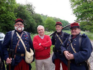 Tourisme de mémoire en compagnie de Guy Lemaire, qui évoque le douloureux épisode de la Guerre des Frontières en août 1914.