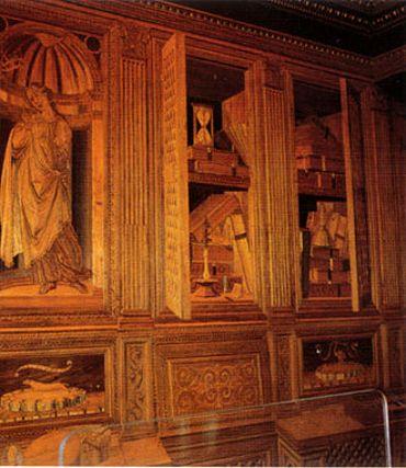 Le studiolo de Frédéric III de Montefeltro