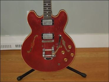 Blackmore: guitare de 1961 en vente