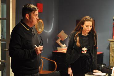 Exposition Les baisers:  Emilie Dujat et Jean-Marc Pelsemaeker