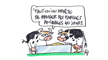 """""""Il ne faut pas 40 jours sans viande mais 40 jours d'achats locaux, dans les fermes"""""""