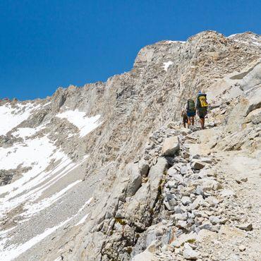 La Pacific Crest Trail, au Nevada (États-Unis)