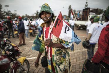 Un partisan de Kagame à Kigali.