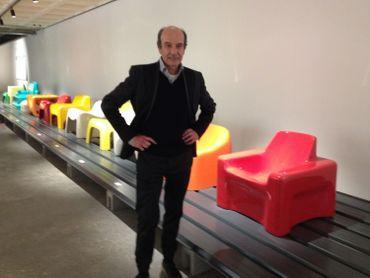 Philippe Decelle, collectionneur amateur de plastique