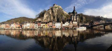 Dinant, la sublime ville mosane où est né l'inventeur du saxophone