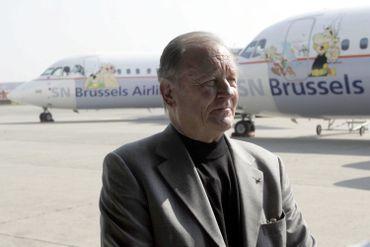 Avions de la Brussels Airlines décorés aux couleurs du héros gaulois,